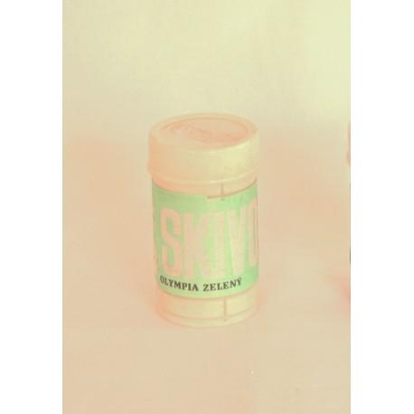 Stoupací vosk zelený